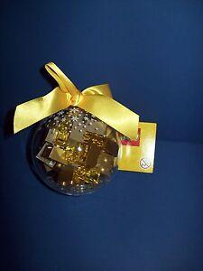 LEGO 853345 30 Gold Bricks HOLIDAY Christmas Ball Ornament Bauble new sealed