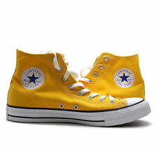 Converse All Star Chuck Taylor Yellow High Top Sneakers Mens 11 Womens 13