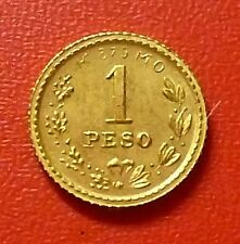 MEXICO GOLD COIN 1 Peso, KM410 AU 1882