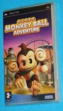 Super Monkey Ball Adventure - Sony PSP - PAL
