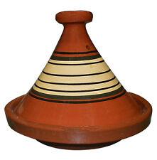 "Moroccan Cooking Tagine Pot Tajine Tangia Lead Free Terra Cotta Glazed Medium10"""