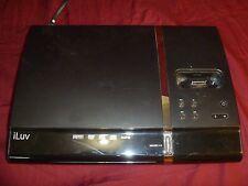 iLuv i1255 Slim Desktop DVD Player and Dock for iPod (Black) RB 11030