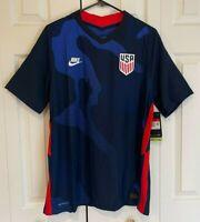 Nike 2020 USA Vapor Match Vaporknit Soccer Jersey Men's Size Large CD0603-475