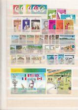 SOLOMON ISLANDS MNH stamps and blocks (CV $130 EUR111)