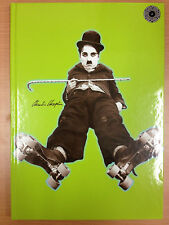 CHARLIE CHAPLIN - A4 Journal Diary Notebook - green