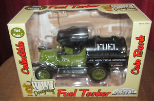 Gearbox WWI Doughboy Diecast Ford Model T Fuel Tanker MIB Army Military US Bank