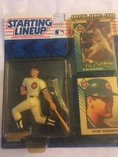 1993, Starting Lineup Baseball MLB RYNE SANDBERG, Action Figure w/ Card *MOC*