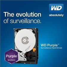 New WD Purple Surveillance 4TB Internal Hard Drive 6Gb/s 64MB SATA 4 TB PC HDD
