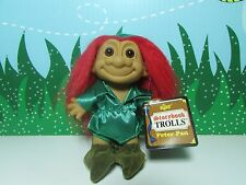 "PETER PAN - 5"" Russ Storybook Troll Doll - NEW IN ORIGINAL WRAPPER - Red Hair"