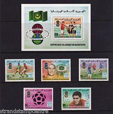 Mauritania - 1979 World Cup Winners - U/M - SG 593-7 + MS598