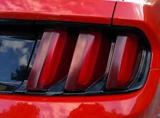 2015/2016/2017 Mustang [15M_TEU] Euro Red Tail Lights - Red Vinyl Tint Kit