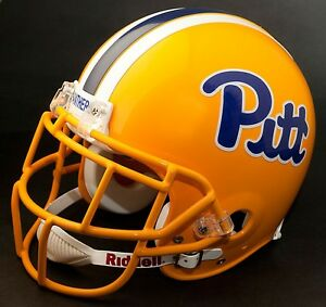 CURTIS MARTIN Edition PITTSBURGH PANTHERS Riddell REPLICA Football Helmet PITT
