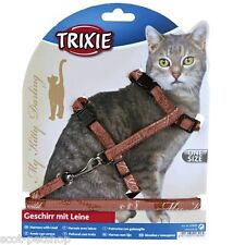 TRIXIE My Kitty Darling Cat Lead and Harness Set Fits Normal Cats 41899