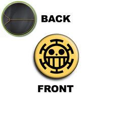 PIN SPILLA 2,5 CM 25 MM One Piece Trafalgar Flag logo