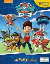 Nickelodeon Paw Patrol My Busy Books 12 Figurines Playmat Storybook