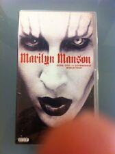"VHS - MARILYN MANSON ""GUNS, GOD AND.."" NUOVA SIGILLATA NEW SEALED DA COLLEZIONE"
