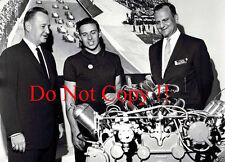 Jim Clark Portrait Indianapolis 500 1964 Photograph 1