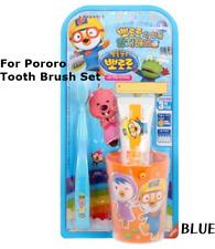 Pororo Tooth Brush Tooth Paste Cup Set For Kids Children  3Years+ Korea Original