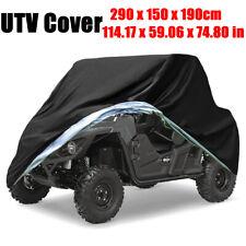 Waterproof Utv Vehicle Storage Cover Oxford Outdoor Dust Protector Heavy Duty