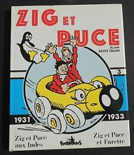 Collection Copyright. ZIG ET PUCE vol. 3 SAINT-OGAN..1931 1933.  Futuropolis TB