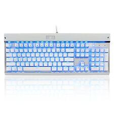EagleTec KG011 Office / Industrial LED Backlit Mechanical Keyboard White +