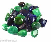 102-1002 Ct. Ebay Natural Mix Emerald & Sapphire Loose Gemstone Wholesale Lot