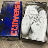 Vintage 90s New Converse Mens 6.5 Cons 500 Classic Ox Leather Basketball Shoes