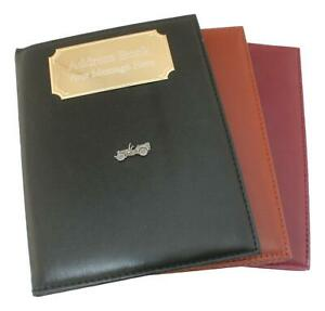 Jeep Telephone Address Book A-Z Index Free Engraving 433