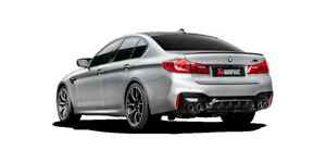 Akrapovic BMW M5 F90 mit OPF Slip-on Titanium Sportabgasanlage Carbon ER NEU