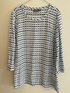 SUSSAN Relaxed Blouse Top - Size 14