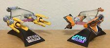 Hasbro Star Wars Titanium Series Anakin Skywalker and Sebulba's Podracer Models