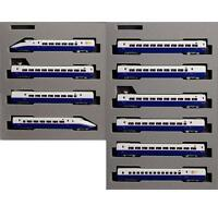 "Kato 10-278 & 10-279 Series E2-1000 Shinkansen ""Hayate"" Bullet Train 10 Cars - N"