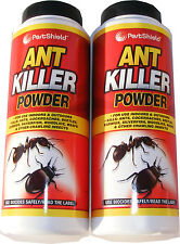 2 x 240g BOTTLES OF ANT KILLER POWDER FOR INDOOR & OUTDOOR USE (480g TOTAL)