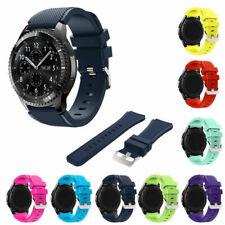 Reloj de pulsera Correa de banda de silicona para Samsung Gear S3 Frontier/Classic 46mm