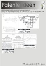 Raketenmotor Raketenantrieb 323 Patente CD