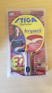 Stiga Impact T0030 Ping Pong Table Tennis Paddle BRAND NEW SEALED!