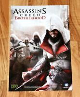 Assassin's Creed Brotherhood Rare Poster PlayStation 3, Xbox 360, PS3 Ubisoft.