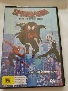 Spider-Man - Into The Spider-Verse (DVD, 2019), NEW SEALED AUSTRALIAN Region 4