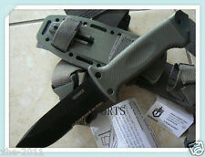 Gerber LMF II Infantry Military Pig Survival Serrate Knife - FG504 Green 01626