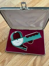 VINTAGE LANGE SKINFOLD CALIPER WITH CARRYING CASE