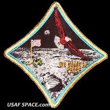 "Apollo 11 Spirit Commemorative 5"" Tim Gagnon ORIGINAL AB Emblem NASA SPACE PATCH"