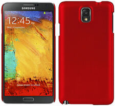RED ULTRA-SLIM PROTEX HARD CASE REAR BACK COVER FOR SAMSUNG GALAXY NOTE 3 III
