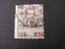 *ERITREA, SCOTT # 25,40c VALUE 1903-28 ITALY STAMPS OVPT KING HUMBERT I USED
