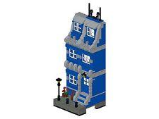 Lego - Bricksy's Modern Town - K03 - Haus II - blau&grau