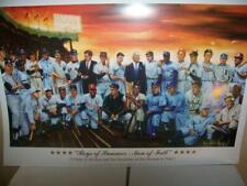 Baseball Greats Boys of Summer Lithograph Robert Simon Art