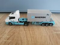 (P1) Herpa LKW H0 1:87 Scania Hauber Maersk