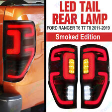 LED Smoke Tail Light Lamp Rear Ford Ranger PX T6 Mk1 Mk2 Mk3 Wildtrak XLT TDCi G