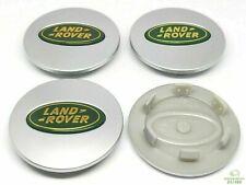 4 Tappi Coprimozzo per LAND ROVER Freelander Discovery Evoque Cerchi Lega 62mm