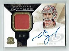 10-11 UD The Cup Signature Patches  Cam Ward  /75  Auto  Patch