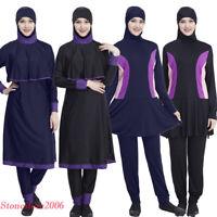 4888b2b1a8fef5 New Women Islamic Swimwear Muslim Swimsuit Burkini Modesty Full Cover  Beachwear